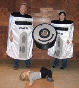 Ryan Brown Roomba Costume