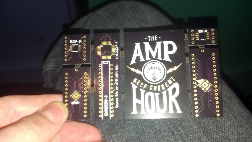 The Amp Hour Breakout Board