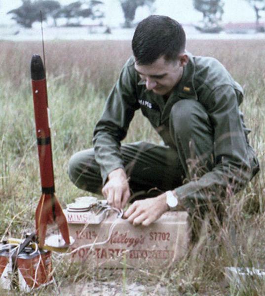 Forrest_Mims_Rocket_Vietnam_1967