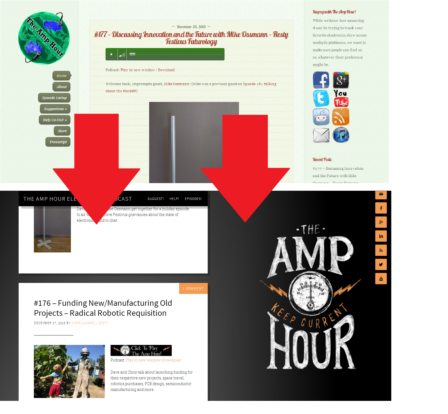 A New Look For 2014 The Amp Hour Electronics Podcast Projects In