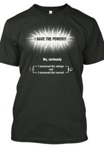 Have the power tshirt