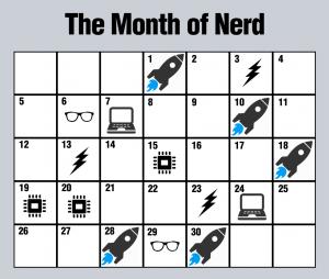 #301 – The Nerd Calendar